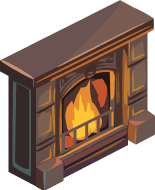 Dignified Fireplace