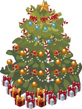 Grand Traditional Christmas Tree