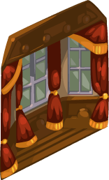 Plush Victorian Dining Window